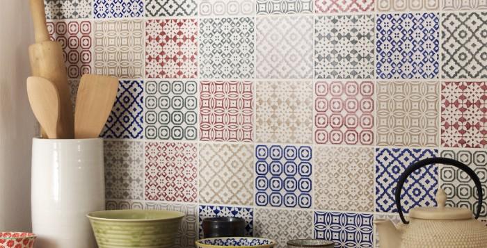 Decorative Tiles Brighten An Entire Home