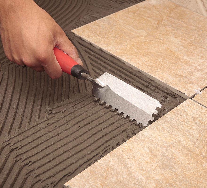 Tiling Tools Large Tile Installation