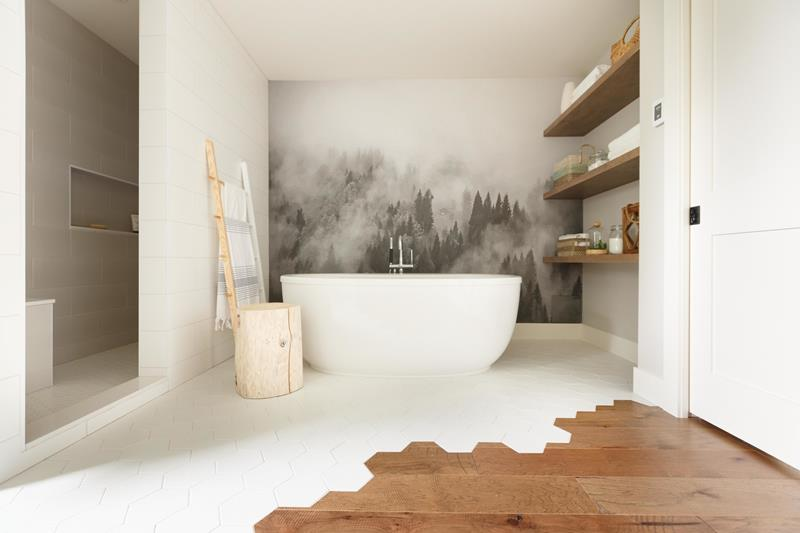 Mixing And Matching Wooden And Tile Floor Designs