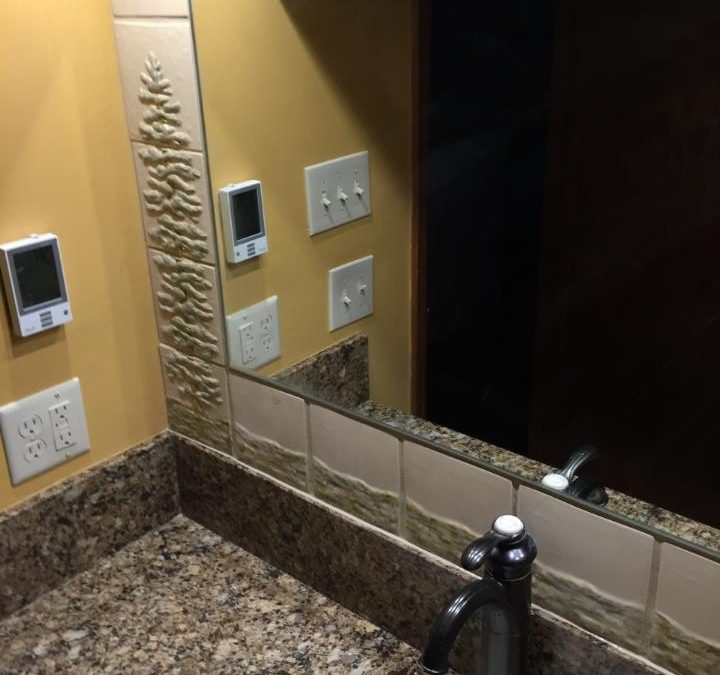 New Tiles Cater To Personal Bathroom Design